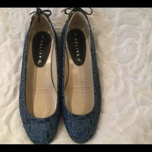 Celine Shoes Ballerina Flats in Size 38.
